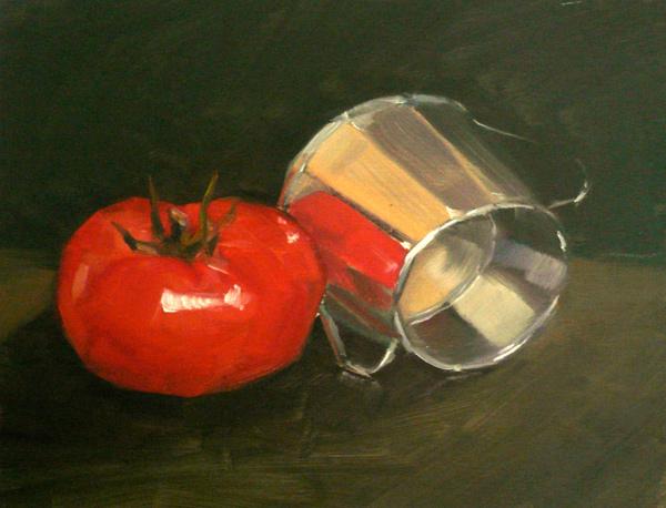 Tomate et Pot